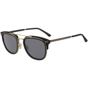 Hodinky & Bižuterie Muži sluneční brýle Jimmy Choo  Černá