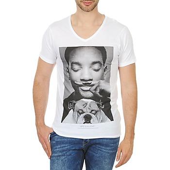 Textil Muži Trička s krátkým rukávem Eleven Paris WOLY M Bílá