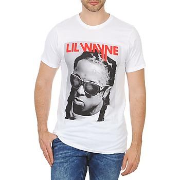 Textil Muži Trička s krátkým rukávem Eleven Paris APY M Bílá