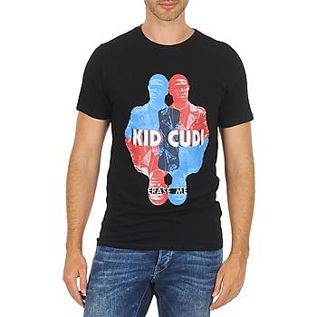 Textil Muži Trička s krátkým rukávem Eleven Paris KIDC M Černá