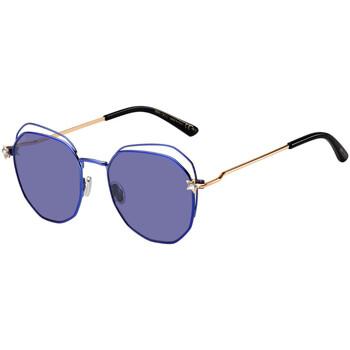 Hodinky & Bižuterie Ženy sluneční brýle Jimmy Choo  Fialová