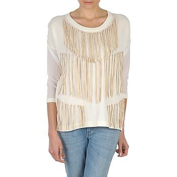 Textil Ženy Trička s dlouhými rukávy Eleven Paris ANGIE Bílá