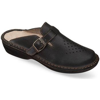 Boty Ženy Pantofle Mjartan Dámske papuče  DORA čierna