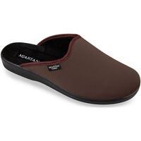 Boty Muži Papuče Mjartan Pánske papuče  DAMIÁN hnedá