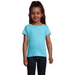 Textil Dívčí Trička s krátkým rukávem Sols CHERRY Azul Azul