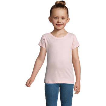 Textil Dívčí Trička s krátkým rukávem Sols CHERRY Rosa Rosa