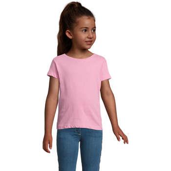 Textil Dívčí Trička s krátkým rukávem Sols CHERRY Rosa Orqudea Rosa