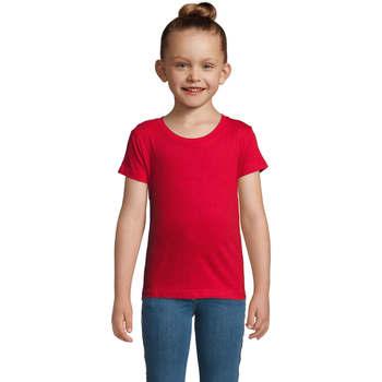 Textil Dívčí Trička s krátkým rukávem Sols CHERRY Rojo Rojo