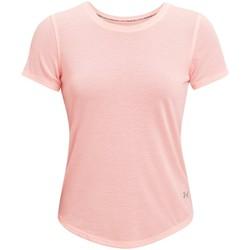 Textil Ženy Trička s krátkým rukávem Under Armour Streaker Run Short Sleeve Růžová