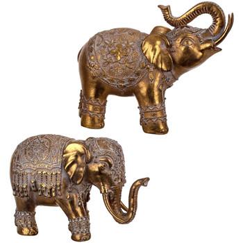 Bydlení Sošky a figurky Signes Grimalt Elephant 2 Září Units Dorado