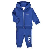 Textil Chlapecké Teplákové soupravy BOSS LOLITA Modrá