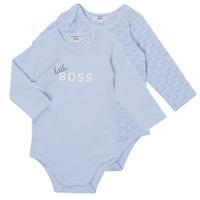 Textil Chlapecké Pyžamo / Noční košile BOSS SEPTINA Modrá