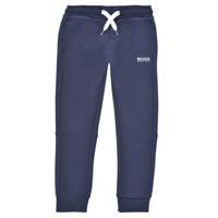 Textil Chlapecké Teplákové kalhoty BOSS PATELIN Tmavě modrá