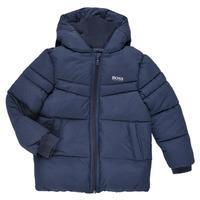 Textil Chlapecké Prošívané bundy BOSS DOLINA Tmavě modrá