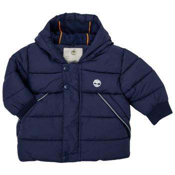 Textil Chlapecké Prošívané bundy Timberland ASSAGAC Tmavě modrá