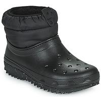 Boty Ženy Zimní boty Crocs CLASSIC NEO PUFF SHORTY BOOT W Černá