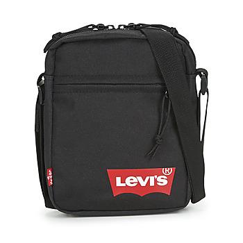 Taška Muži Malé kabelky Levi's MINI CROSSBODY SOLID (RED BATWING) Černá
