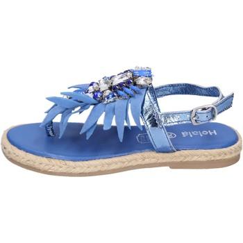 Boty Dívčí Sandály Holalà  Modrá