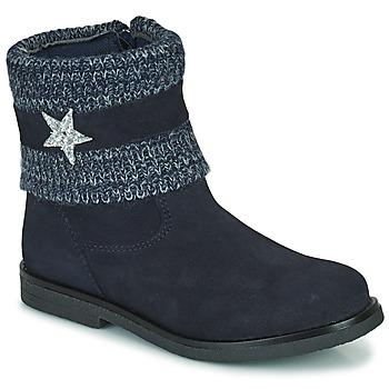 Boty Dívčí Kotníkové boty Citrouille et Compagnie PASTEK Tmavě modrá