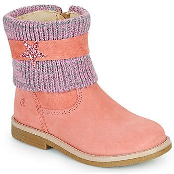 Boty Dívčí Kotníkové boty Citrouille et Compagnie PASTEK Růžová