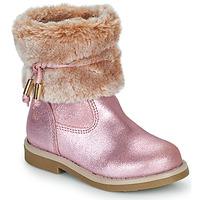 Boty Dívčí Kotníkové boty Citrouille et Compagnie PAKRETTE Růžová / Duhová