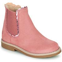 Boty Dívčí Kotníkové boty Citrouille et Compagnie PRAIRIE Růžová