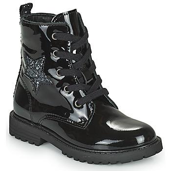 Boty Dívčí Kotníkové boty Citrouille et Compagnie PICOTI Černá