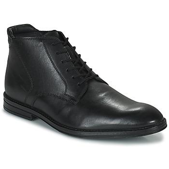 Boty Muži Kotníkové boty Clarks CITISTRIDERISE Černá