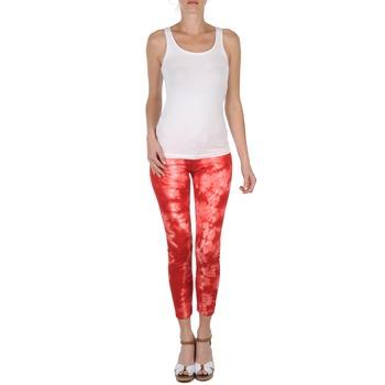 Textil Ženy Tříčtvrteční kalhoty Eleven Paris DAISY Červená / Bílá