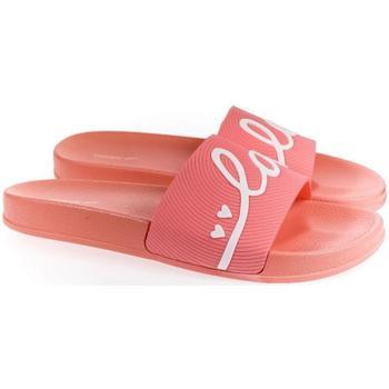 Boty Ženy pantofle Wink Dámske ružové šľapky  LOVE ružová