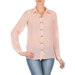 Textil Ženy Košile / Halenky Manoush CHEMISE ML ALIZE Růžová