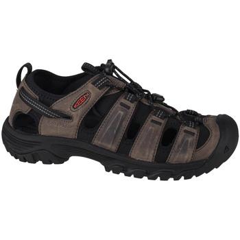 Boty Muži Sportovní sandály Keen Targhee III Sandal Šedá