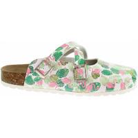 Boty Ženy Pantofle Forcare Dámské pantofle  101038 bílá-zelená Zelená
