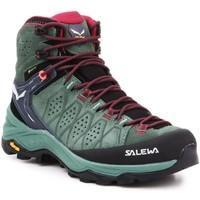 Boty Ženy Pohorky Salewa WS Alp Trainer 2 Mid GTX 61383-5085 olive green