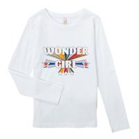Textil Dívčí Trička s dlouhými rukávy Only KONTINNA Bílá