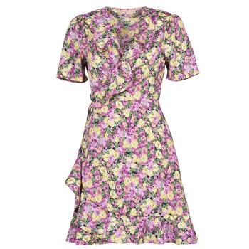 Textil Ženy Krátké šaty Moony Mood OHLALA Fialová