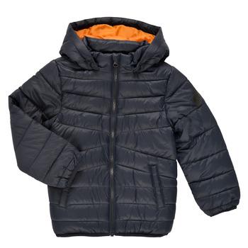Textil Chlapecké Prošívané bundy Name it NMMMOBI JACKET Tmavě modrá