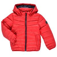 Textil Chlapecké Prošívané bundy Name it NMMMOBI JACKET Červená