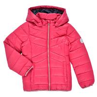 Textil Dívčí Prošívané bundy Name it NMFMOBI JACKET Růžová