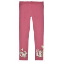 Textil Dívčí Legíny Name it NMFTHUMPER ENGLA LEGGINGS Růžová