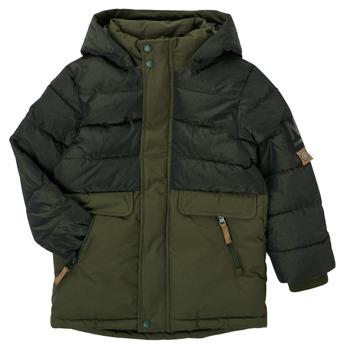 Textil Chlapecké Parky Name it NKMMANUEL JACKET Khaki