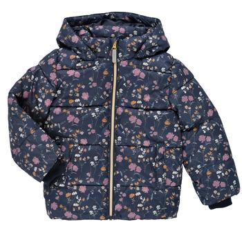 Textil Dívčí Prošívané bundy Name it NMFMAY PUFFER JACKET Tmavě modrá