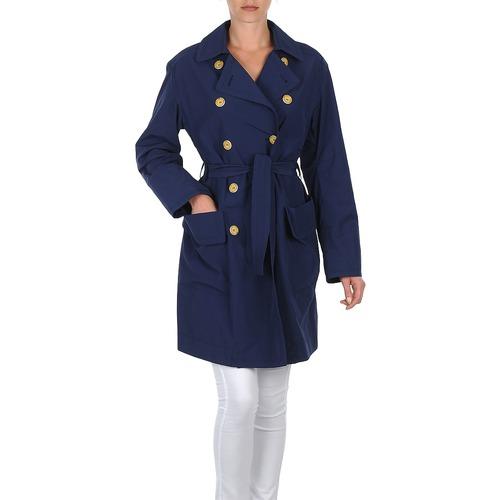 Textil Ženy Pláště Lola MALIN VENTO Tmavě modrá