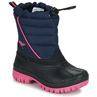 Boty Dívčí Zimní boty Kangaroos K-BEN Modrá / Růžová