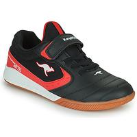 Boty Děti Nízké tenisky Kangaroos K5-COURT EV Černá / Červená
