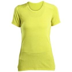 Textil Ženy Trička s krátkým rukávem Saucony SAW800023 Žluté