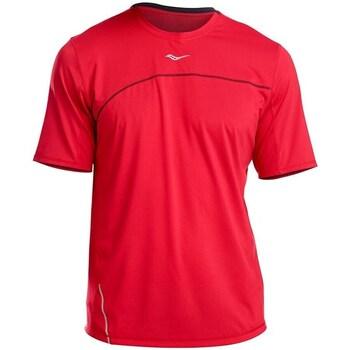 Textil Muži Trička s krátkým rukávem Saucony SAM800214 Červené