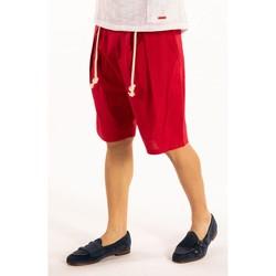 Textil Muži Kraťasy / Bermudy Takeshy Kurosawa  Červená