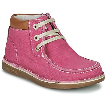 Boty Dívčí Kotníkové boty Birkenstock PASADENA HIGH KIDS Růžová
