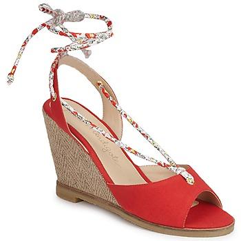 Boty Ženy Sandály Petite Mendigote BLONDIE Červená